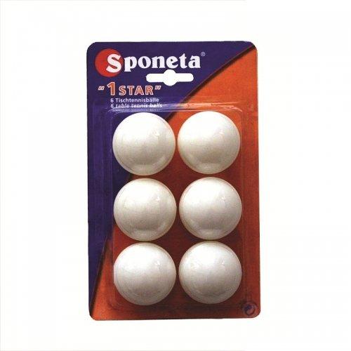 Míčky na stolní tenis SPONETA Leisure * - 6ks