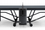 SPONETA Design Line - Black Indoor - držák na pálky a zásobník na míčky