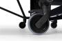 SPONETA Design Line - Black Outdoor - detail pogumovaného kolečka
